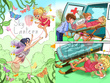 Create beautiful children's book illustration for you