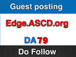 Publish a guest post on EDge.ASCD - EDge.ASCD.org - DA79, PA59