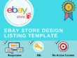 Create custom eBay store and eBay Listing Template