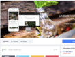 Create a new cover image for your businesses' Facebook page.