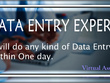 Do any type of Data Entry for 2 hours.