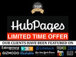 Publish a guest post on Hubpages Hubpages.com