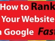 Rank your website top in google