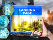 Design modern landing page for your business