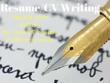 Be your resume. cv writer