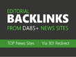 Build High Authority Backlink Frm Top News Site Via 301 Redirec
