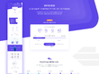 Design a bespoke UI for Crypto, ICO Home page PSD