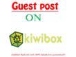 Publish Guest Post On Kiwibox With Dofollow Link