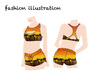 Design lingerie, swimwear, sportswear, activewear, clothe