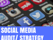 Produce a full social media audit & strategy for you company
