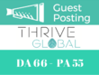 Publish guest post on high authority ThriveGlobal.com DA 66