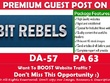 Publish a guest post on Bit Rebels - BitRebels.com - DA 57, PA63