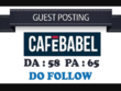 Guest Post on cafebabel.co.uk With Dofollow Link - UK Website