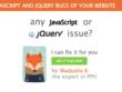 Fix a Javascript or jQuery problem - Premium