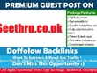 Publish a guest post on Seethru.co.uk - Dofollow