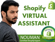 Be your shopify virtual assistant