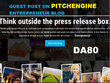Guest post on Pitchengine.com DA 80 TF 40 Blog