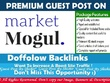 Publish a guest post on The Market Mogul - themarketmogul.com