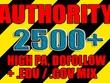Get over 2500 dofollow, high pa, edu and gov backlinks