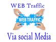 Bring 10,000+  Europe Traffic Via Social media