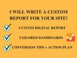 Write A Custom Google Analytics Report For Your Site