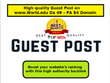 High Quality Guest Post on http://world.edu Da 49 - PA 54 Domain