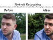 Retouch 12 photos of people, places or products within 24 hours