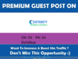 Publish Guest Post On Centrinity.com - DA 50