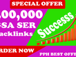 400,000 Authority Qualty GSA SER Verified Backlinks for SEO Rank