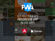 Progressive Web App (PWA) with Ionic+Angular+Firebase