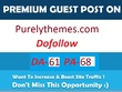 Write & Publish Guest Post On Purelythemes.com Da- 61 Blog