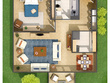 Render a floor plan of your space