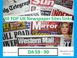Provide You 50 TOP UK Newspaper Sites Nofollow Backlinks