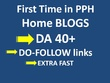 Do 10 Guest Post on DA40+ Home Blogs