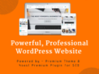 Create a Powerful WordPress Website using Premium Theme + SEO
