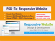 Developed PSD to Responsive WordPress Website