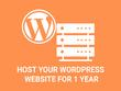 1 Year WordPress hosting