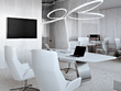 Prepare an office interior design