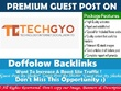Guest Post on TechGYO.com
