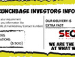 Provide crunch base Investors email address and phone numbers.