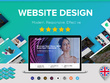 Design a modern, responsive and effective website