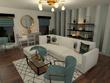 3D Interior Night Renders