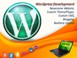 Develope and Design Responsive Wordpress site, E-Commerce Site