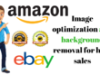 Provide amazon image optimization and background removal