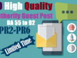 10 Guest Post On High Authority Blogs, DA 55 To 98