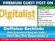 Publish a guest post on Digitalist Magazine(Digitalistmag.com)