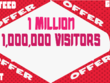 Get 1 Million 1,000,000 Visitors Traffic Within 5 Days