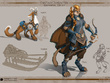 Create a character concept art