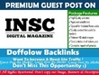 Publish a guest post on INSC Magazine with dofollow links