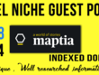 Write and Publish A dofollow Guest Post On Maptia. com